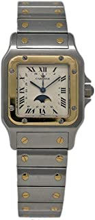 Cartier Santos Galbee Swiss-Quartz Female Watch 119901 (Certified Pre-Owned)