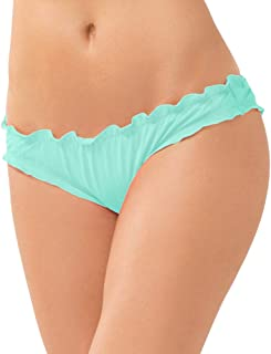 Smart & Sexy Women's Swim Secret Ruffled and Ruched Back Bikini Bottom