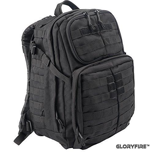 gloryfire táctico mochila 3día Asalto Pack para al aire libre senderismo camping...