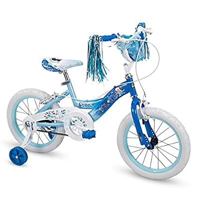 "Huffy 16"" Disney Frozen Elsa Girls Bike, Deep Blue"