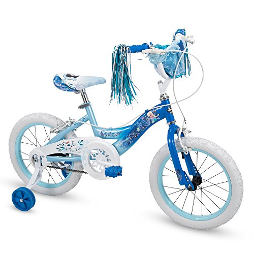 Huffy 16' Disney Frozen Elsa Girls Bike, Deep Blue