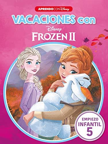 Vacaciones con Frozen II (Libro educativo Disney con actividades): Empiezo... infantil 5