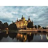 Krumbholz Schwerin Castle Germany Photo Large Wall Art