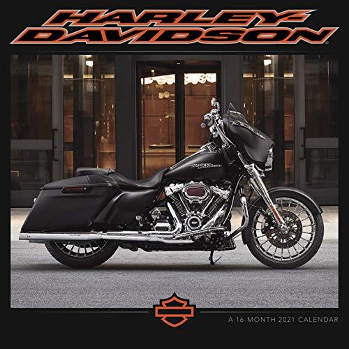 2021 Harley-Davidson Wall Calendar