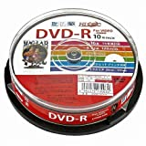 HI-DISC DVD-R HDDR12JCP10 (CPRM対応 デジタル録画用 16倍速 10枚)