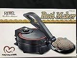 Revel Roti CTM 620 Tortilla Flatbread Maker with Temperature Control, 8-Inch, Black