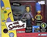 The Simpsons World of Springfield Interactive Enviroment Bowling Alley with Exclusive Jacques & Bowling Marge Figures