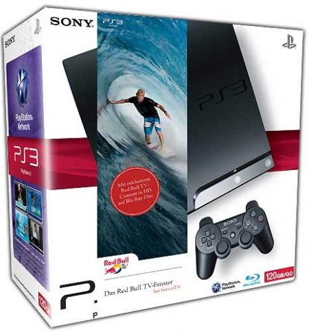 Sony Playstation PS 3 Konsole 120GB Slim
