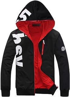 ジャケット メンズ 大きいサイズ 春 おしゃれ 薄手 ショート丈 カジュアル 防風 通気性 体型カバー 無地 フード付き 運動服 ブラック グリーン ブルー Mー6XL