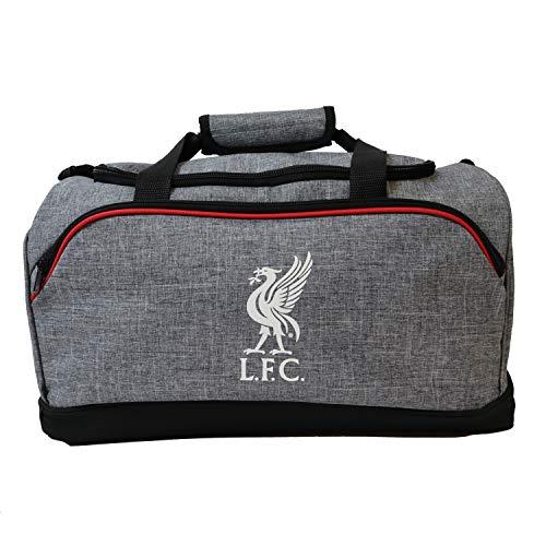 FOCO Football Club Heather Grey Duffle Bag (Liverpool)