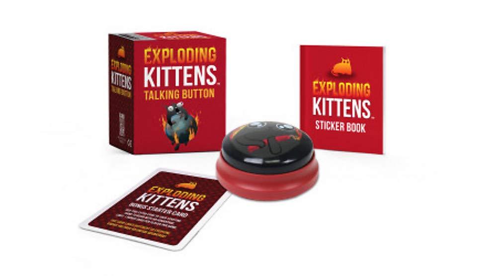 Exploding Kittens: Talking Button (Rp Minis)