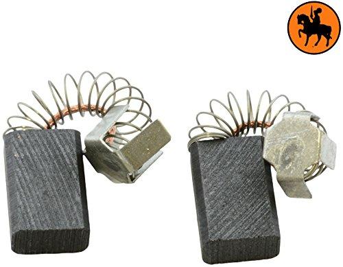Buildalot Specialty koolborstels ca-17-49394 voor Makita-freesmachine 3620-6x10x15 mm - met automatische uitschakeling - vervanging voor originele onderdelen 181410-1, 191904-8, CB-106 & CB-113