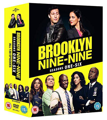 Brooklyn Nine-Nine: Season 1-6 Set (19 Dvd) [Edizione: Regno Unito] [Italia]