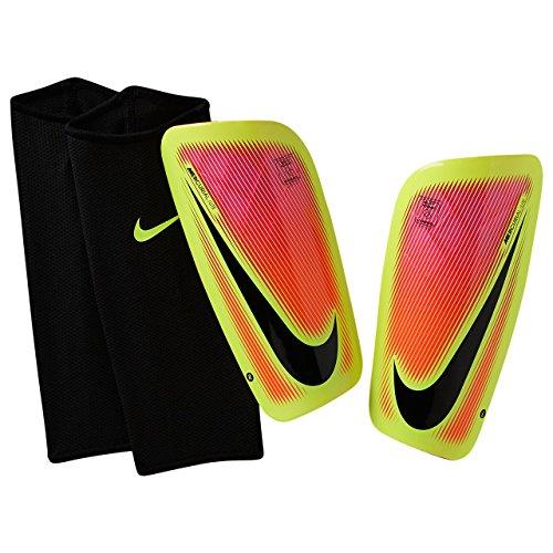 Nike Herren Mercurial Lite Schienbeinschoner, Pink Blast/Volt/schwarz, XL