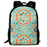 TRFashion Sac à Dos Music Neon Signs Beach Vinyl Record Fashion Outdoor Shoulders Bag Durable Travel Camping for Kids Backpacks
