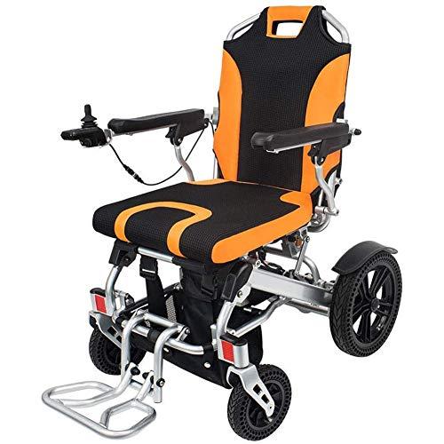 Wheelchair Elektrisch Angetriebener Rollstuhl Klappbarer Leichter, Abnehmbarer Mobilitätsstuhl Für Lithiumbatterien, Motorisierte Rollstühle Mit Kann Die Armlehne Anheben