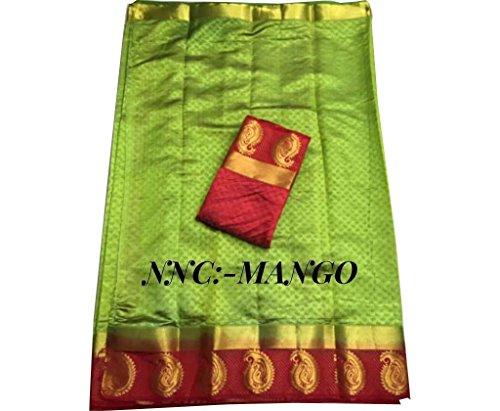 Indische Bollywood Hochzeit Saree indische ethnische Hochzeit Sari neue Kleid Damen lässig Tuch Geburtstag Ernte Top Mädchen Frauen schlicht traditionelle Party Wear Readymade Kostüm (green 3)