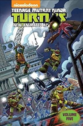 [Teenage Mutant Ninja Turtles: New Animated Adventures Volume 5] (By (artist) Chad Thomas , By (artist) Billy Martin , By (artist) Dario Brizuela , By (author) Paul Allor , By (author) Landry Walker) [published: May, 2015]