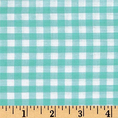 Richland Textiles Richcheck 60in Gingham Check 1/4in Mint Fabric By The Yard