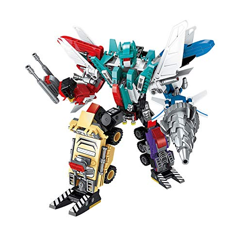 Jetta King Juguetes de Transformers, Los niños Lego de Ladrillos Robot Alumnos Boys Regalos