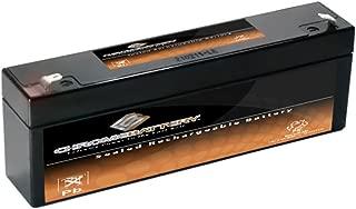 12V 2AH SLA Battery Replaces np2-12 ub1222 pc1220