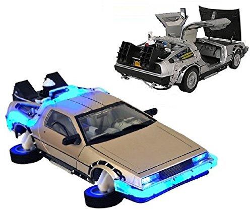 Gear 4 Games Zurück in die Zukunft Teil II Maßstab 1: 18Delorean Modellauto