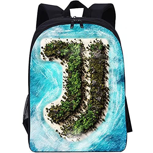 QULONG Juventus F.C Zaini Stampa 3D Bookbags Zaino College Zaini da viaggio leggeri Daypack casual Zaino di tela zaino da viaggio fashion daypack