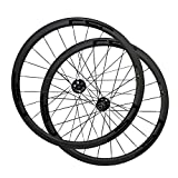 700C 15mm /12X142mm Rear Thru Axle Disc Brake hub 38mm Tubeless Ready Carbon Bike Wheels Cyclocross...