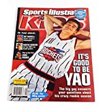LeBron James Rookie Card in Sports Illustrated for Kids Magazine Yao Ming Cover May 2003 Full 9 Card...