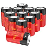 FARSAIL 16-Pack 800mAH Arlo CR123A Batteries Rechargeable for Arlo VMC3030 VMK3200 VMS3130 3230C 3430 3530 Wireless Security Cameras, Flashlight and More