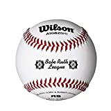 Wilson Youth League and Tournament Baseballs, A1082, RS, Babe Ruth, League (One Dozen)