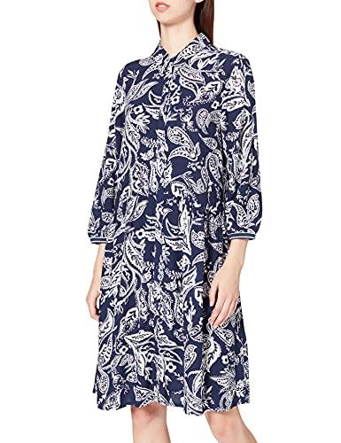 Cecil Damen 143019 Kleid, deep Denim Blue, XXL