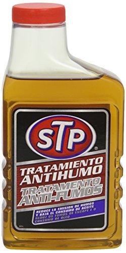 STP ST64450SP Tratamiento ANTIHUMOS Gasolina 450 ml Reduce la emision de Humos y el Consumo de Aceite, 450ml