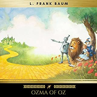 Ozma of Oz audiobook cover art