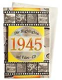 Geburtstagskarte 1945 mit Video-CD Jahreschronik