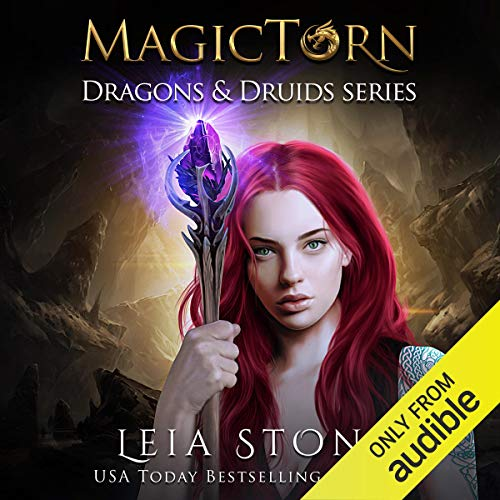 Magictorn audiobook cover art