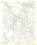 YellowMaps Delta Ranch CA topo map, 1:31680 Scale, 7.5 X 7.5 Minute, Historical, 1922, Updated 1933, 19.8 x 16.4 in - Polypropylene