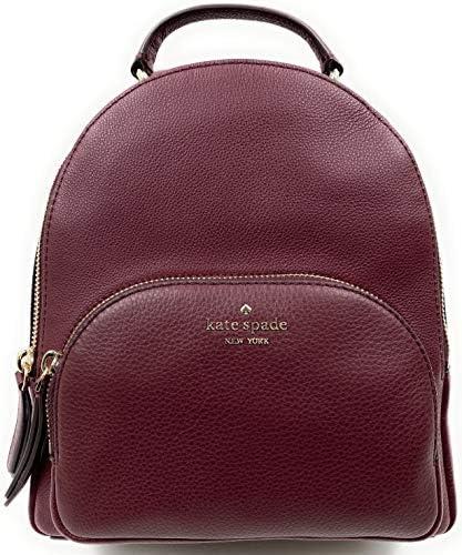 Kate Spade New York Jackson Medium Backpack Pebbled Leather Cherrywood product image