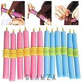 Glamza - 12bigoudis magiques - Mous et flexibles - Sans chaleur - Facile à...