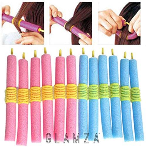 Glamza - Juego de 12 rizadores de pelo mágicos