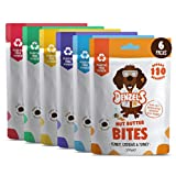 Denzel's Healthy Dog Treats - Low Calorie, Low Fat, Grain Free, Hypoallergenic, Natural Dog Treats - Variety Bundle: Soft 'n' Squishy Low Calorie Training Treats x 6 Plastic-Free Pouches (6 x 100g)