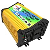 Honelife Peaks Power 3000W Modified Sine Wave Inverter High Frequency Power Inverter DC