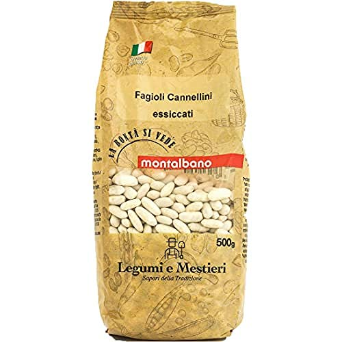 MONTALBANO Fagioli Cannellini Italiani 6 Buste - 3 kg