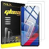 Pkila Protector de Pantalla ASUS Zenfone 7 / Zenfone 7 Pro Cristal Templado Protector [9H Dureza][Alta Definición] Vidrio Templado para ASUS Zenfone 7-Transparent