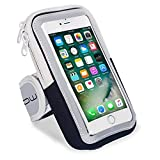 LENPOW Multifunctional Outdoor Sports Armband Sweatproof Running Armbag Casual Arm Package Bag Gym Fitness Cell Phone Bag Key Holder for iPhone 12 11 Pro XS MAX X 8 7 Plus Samsung Galaxy Note S20 S10