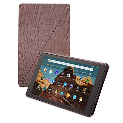 Fire HD 10 tablet case | Compatible with 9th generation tablet (2019 release), Plum