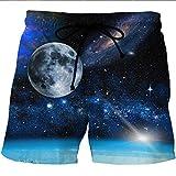 Pingrog Pantalones Cortos De Playa Cortos para Pantalones De con Hombres Estilo único Playa para El Verano Estampados con Estampado para Niños Trajes De Baño Pantalones Pitillo De Verano para