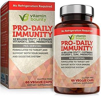 Vitamin Bounty Immune Support Probiotics + Prebiotics