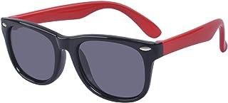 Outray - Gafas de sol flexibles para niños y niñas, polarizadas con protección UV, cómodas, para niños de 3 a 10 años