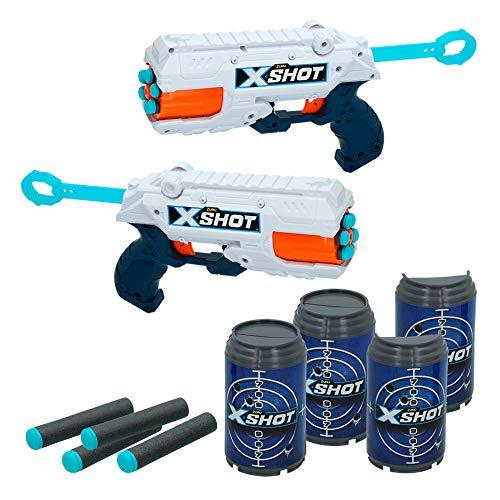 X-Shot Spielzeugpistolen 2X Reflex 6 Sin Talla